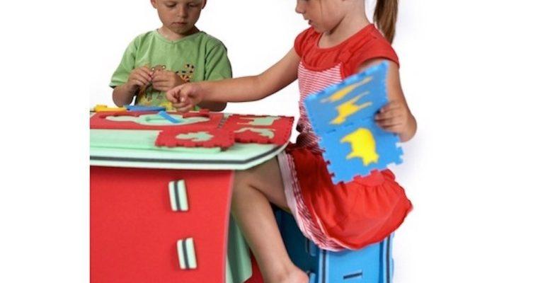 Bezpieczne i oryginalne meble piankowe dla dzieci