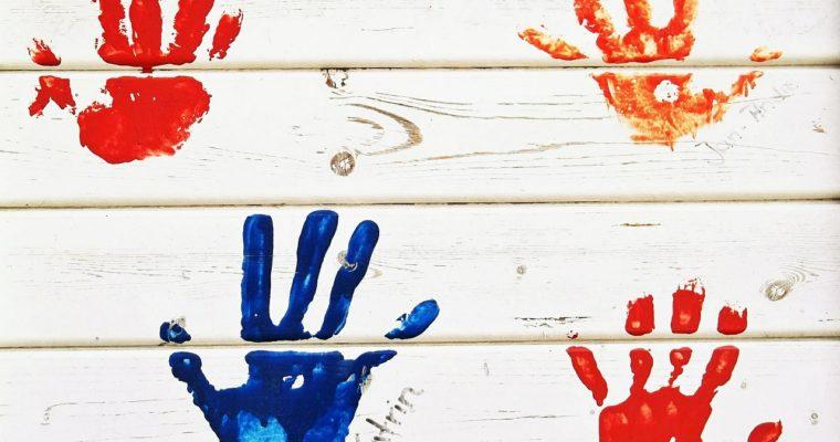 Kreatywne zabawy – wspólne malowanie